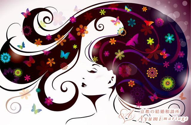 京都の結婚相談所あゆみマリアージュ_【女性向け記事/ヘアケア編】髪の毛のツヤが第一印象を決める!