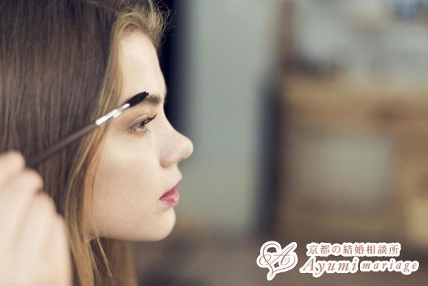 京都の結婚相談所あゆみマリアージュ_[女性向け記事]あなたの眉、大丈夫?